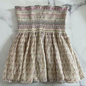 Mes Demoiselles Beige Pink Skirt Size 36
